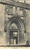 Burgos, Cartuja de Miraflores, Portada de la Iglesia del Siglo XV. / Miraflores Charterhouse, monastery, church gate from the 15th century
