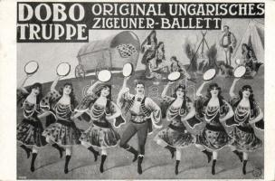 Dobo Truppe, Original Ungarisches Zigeuner Ballett / Hungarian gypsy ballet dance group, advertisement, Dobo csoport, Eredeti magyar cigány balett tánccsoport, reklám