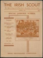 1937 The Irish Scout. 1937. Summer. Special Jamboree Number. Angol nyelven. Memories of Four Jamborees. Benne (Gödöllő, 1933.)