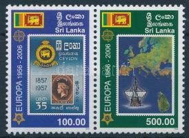 2006 50 éves a bélyeg pár, 50th anniversary of stamp pair Mi 1525-1526
