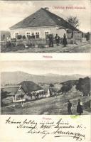1905 Felsőnána, Plébánia, Fő utca. Fogyasztási Szövetkezet kiadása (EK)