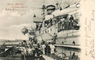 Kohlenbunkern, Unsere Marine / mariners