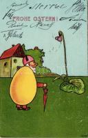 Easter, B.K.W.I. 4529-5. litho