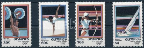 1984 Nyári olimpia, Los Angeles sor, Summer Olympics, Los Angeles set Mi 580-583