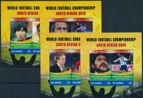 Football World Cup, South Africa set + blockset, Labdarúgó-világbajnokság, Dél-Afrika sor + blokksor