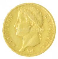 Franciaország / Első Császárság 1811A 20Fr Au I. Napóleon (6,42g/0.900) T:2- / France / First Empire 1811A 20 Francs Au Napoleon I (6,42g/0.900) C:VF Krause KM#695.1