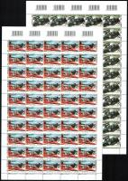 2005 Bélyegnap hajtott vonalkódos teljes ívekben (min. 50.000)