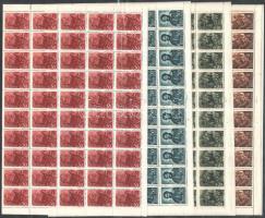 1944 Kossuth 100 sor hajtott teljes ívekben (20.000)