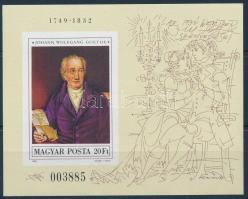 1982 Festmény (XX.) vágott blokk (5.500)