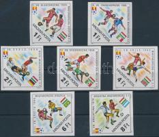 1982 Labdarúgó VB - Spanyolország (IV.) vágott sor (4.000)