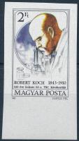 1982 Robert Koch ívszéli vágott bélyeg