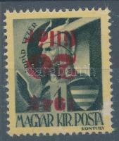 1945 Kisegítő 20f/1f fordított felülnyomással (20.000)