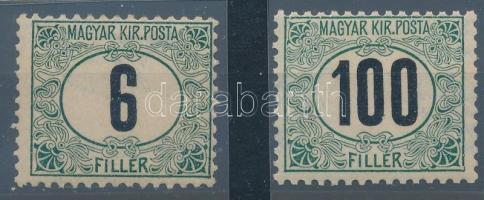 1905 Portó A 6f és 100f (17.000)
