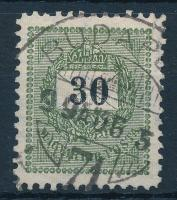 1898 30kr 11 1/2 fogazással (15.000)