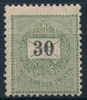 1898 Elfogazott 30kr (10.000)