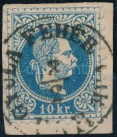 1867 10kr GYULA FEHÉR VÁR / VÁR (Gudlin 250 pont)