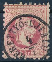 1867 5kr BERETTYÓ=ÚJFALU (Gudlin 150 pont)