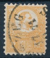 1871 Kőnyomat 2kr (23.500) jó minőségű bélyeg (K)ŐSZEG (GÜN)S