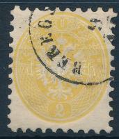 1864 2kr BEREGS(ZÁSZ) (Gudlin 100 pont)
