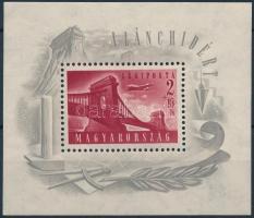 1948 Lánchíd I. blokk részben alig látható vízjellel (30.000+++) (ráncok / creases)