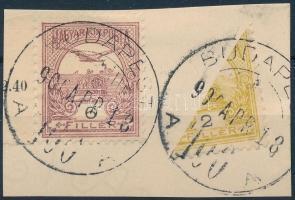 1900 Felezett Turul 2f kivágáson