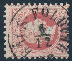 1867 5kr BÁCS-FÖLDVÁR (Gudlin 300 pont)