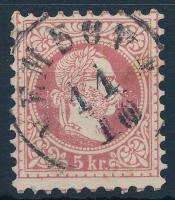 1867 5kr NEMSOVA (Gudlin 400 pont)
