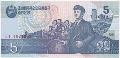 Észak-Korea 1998. 5W T:I North Korea 1998. 5 Won C:UNC