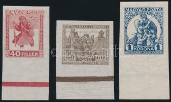 1920 Hadifogoly ívszéli vágott sor (25.000)