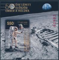 2019 50 éve lépett először ember a Holdra vágott blokk