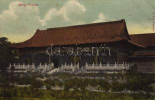 Tianjin, Tientsin; Ming Tombs
