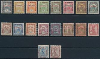 1915 Hadisegély II. sor (12.000) (1f, 20f, 35f falcos / hinged)