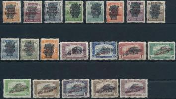 1920 Búzakalász sor (15.000) (3f, 5f falcos / hinged)