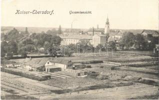 1916 Wien, Vienna, Bécs XI. Kaiserebersdorf, Kaiser-Ebersdorf, Gesamtansicht / general view, farm (EK)