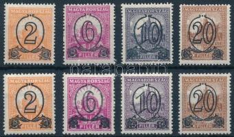 1931 Kisegítő bélyegek I. A és B sor VIII-as vízjellel (36.500)