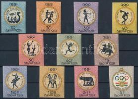 1960 Római Olimpia vágott sor