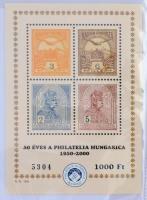 Magyar emlékívek és kevés blokk 100 férőhelyes fotóalbumban, több mint 100 darab