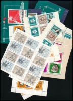 Sok ezer forint névértékű magyar bélyeg, blokk, kisív, sok összefüggés a 70-es de főleg a 80-as évekből borítékokban. Magas katalógus érték!