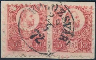 1871 Réznyomat 5kr pár KOLOZSVÁR