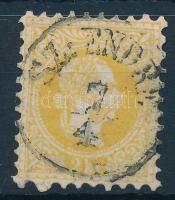 1867 2kr SZ: ENDRE (Gudlin 250 pont)