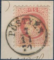 1867 5kr PÖSTYÉN (Gudlin 250 pont)