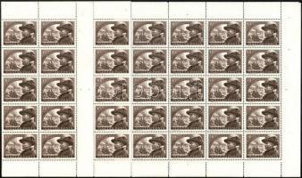 1950 Bem 40f ívközéprészes teljes ív (~30.000)