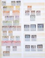 1888/1913 Krajcáros és Turulos rendező sok postatiszta és falcos bélyeggel + igen érdekes megszállási anyag, több mint 2.000 db, hatalmas katalógusérték