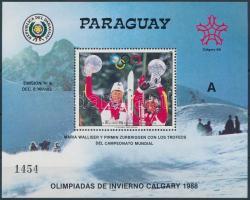 Winter Olympics, Calgary block, Téli olimpia, Calgary blokk