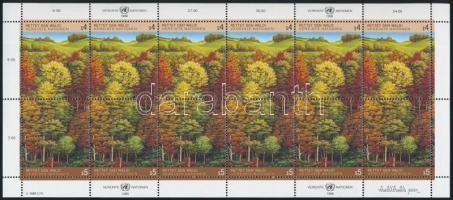 Save the forest mini sheet, Az erdő megmentése kisív
