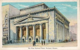 Portland the first National Bank, Portland az első nemzeti bank