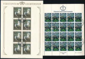 Liechtenstein 5 különféle kisívsor (Mi EUR 140.-)