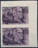1945 Bajcsy-Zsilinszky Endre ívsarki vágott pár (50.000) (kis törések)