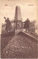 Arad, Vesztőhely. Krausz Paulin 975. / monument