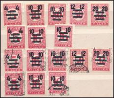 1931 Kisegítő Portó teljes sorozat postatisztán és pecsételve (13.000)
